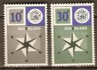 PAYS - BAS      -     EUROPA   -   1957 .    Y&T N° 678 à 679  ** - Europa-CEPT