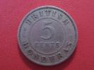 British Honduras - 5 Cents 1936 George V 3463 - Honduras
