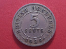 British Honduras - 5 Cents 1939 George VI 3487 - Honduras