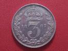 Grande-Bretagne - UK - 3 Pence 1887 Victoria 3602 - 1816-1901 : Frappes XIX° S.