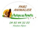 AUTOCOLLANT  STICKER PARC ANIMALIER LA MONTAGNE AUX MARMOTTES  HAUTES-ALPES - Aufkleber
