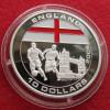 Liberia 10 $ 2005 Soccer Football England - Liberia