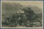 Salzburg Und Nonnberg Gegen Das Lattengebirge, Ungebraucht (AK822) - Salzburg Stadt