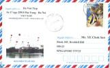 16B: Vietnam Marine Coral Stamp Cover - Vietnam