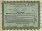 1 Action - FERROCARRILES NACIONALES DE MEXICO (Chemin De Fer Nationaux Du Mexique - Railway & Tramway