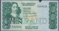 BANKNOTES   1993 SUD AFRIKAANSE-SUDAFRICA 10 RAND - Suráfrica