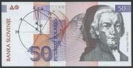 BANKNOTES  1992 SLOVENIJA -SLOVENIA 50 TOLATJEV - Slovénie