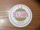 """Sous-bock * """"LE BENJAMIN"""" Paris - Sous-bocks"""
