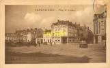 Cpa 59 Armentières, Place De La Gare, Tacots.... - Armentieres
