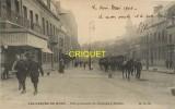 Cpa 59 Denain, Les Grèves Du Nord, Une Patrouille De Dragons, écrite 1906 - Denain