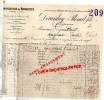 10 - TROYES - FACTURE DEVANLAY & PLENAT FILS- MANUFACTURE BONNETERIE- VANARIEN DERREY FLOGNY-1909 - France