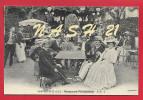 Reproduction De Carte Ancienne, Série Cartes D' Autrefois _ Restaurant ' Fouqueux ', Fin 19eme - Hotels & Gaststätten