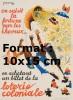 Reproduction D'une Photographie D'une Affiche En Achetant Un Billet De La Loterie Coloniale - Reproductions