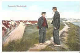 CPSM -  NEDERLANDS  - ZEELAND´S FOLK COSTUMES  /  Zeeuwsche Kleerderdracht . - Costumes