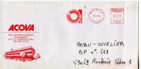 EMA Cercles Superposés,ACOVA,Parc D'activités économique Saint-Guénault,91 Evry,Essonne,lettre 18.12.1984 - Unclassified