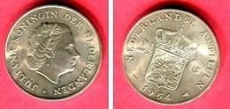 2 1/2 GULDEN 1964 ( KM ) TTB+ 38 - Nederlandse Antillen