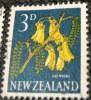 New Zealand 1960 Flower Kowhai 3d - Used - New Zealand