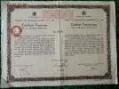 1 ACTION   -  CERTIFICAT FRACTIONNAIRE  De ROUMANIE De 1934 - Navigation