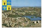 - MADAGASCAR - CPSM écrite TANANARIVE 1972 - Vue Aérienne - Editions HACHETTE 71-038 - - Madagascar