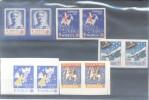 TUBERCULOSIS KOCH TUBERCULOSE NORGE  NORVEGE GODJUL JULEN VIÑETAS VIGNETTES LABELS CINDERELLAS MNH TBE 10 VIGNETTES - ATM/Frama Labels