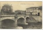 Carte Postale Ancienne Lozanne - Le Pont Sur L´Azergue - Francia