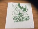 """Serviette Papier *** """"PARC ASTERIX - 2008 GOSCINNY UDERZO"""" 14,5x14,8cm Pliée - Reclameservetten"""