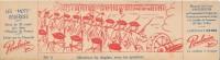 CHOCOLAT POULAIN - Carton 8 X 29 Cm - Les Mots Célèbres - Messieurs Les Anglais.. - Poulain