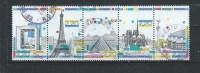 -Frankrijk  Gestempeld  Y & T.  NR°  2579/83    Catw.  5.00  Euro - Used Stamps