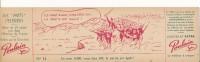 CHOCOLAT POULAIN - Carton 8 X 29 Cm - Les Mots Célèbres - Ils Sont 6000,... - Poulain