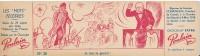 CHOCOLAT POULAIN - Carton 8 X 29 Cm - Les Mots Célèbres - Clemenceau, Je Fais La Guerre ! - Poulain