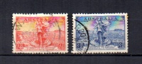 Australia   1936.-   Y&T  Nº    105/106 - 1913-36 George V : Heads