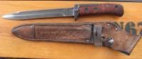 Baïonnette Tchèque VZ 58 SPECIALE, 3 Rivets, Soie Courte, Croisière Longue,  Variante 3, - Armes Blanches