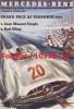 Reproduction D'une Photographie D'une Affiche Mercedes-Benz Grand Prix AF Frankrig 1954 - Reproductions