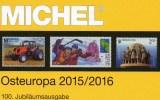 East-Europe Part 7 Stamp Catalogue MICHEL 2015/2016 New 66€ With Polska Russia USSR Sowjetunion Ukraine Moldawia Belarus - Creative Hobbies
