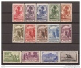 MA105STV-LFT3911TAN.Maroc Marocco MARRUECOS ESPAÑOLPAISAJES Y MONUMENTOS 1928 (Ed 105/18**)  Sin Charnela.MAGNIFICA RARA - 1889-1931 Reino: Alfonso XIII