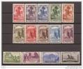 MA105STV-LFT3911TTI.Maroc Marocco MARRUECOS ESPAÑOLPAISAJES Y MONUMENTOS 1928 (Ed 105/18**)  Sin Charnela.MAGNIFICA RARA - Islam