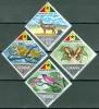 Ghana 1967 Animals, Butterfly, Bird MNH** - Lot. 3950 - Ghana (1957-...)