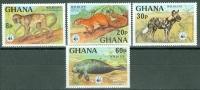 Ghana 1977 Animals MNH** - Lot. 3952 - Ghana (1957-...)