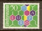 LIECHTENSTEIN    -    EUROPA    -   1960 .   Y&T N° 355 ** - Liechtenstein