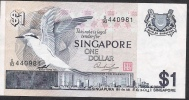 SINGAPORE  P9 1  DOLLAR 1976     VF  NO P.h. - Singapour