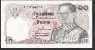 THAILAND  P87 10 BAHT 19680 Signature 66   UNC. - Thailand