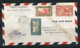 NOUVELLE CALEDONIE- 1ère Traversée Aérienne- Nouvelle Calédonie/ Nouvelle Zélande Par PAN AMERICA CLIPPER-18 Juil.1940 - Luftpost