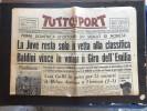 TUTTOSPORT-DEL LUNEDI´ 5 OTTOBRE 1959-COMPLETO DI 12 PAGINE E IN BUONO STATO- - Sport
