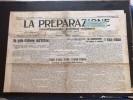"""""""LA PREPARAZIONE""""Giovedì/ Venerdì 27/28 Gennaio1910- 4  PAGINE Originale D'epoca- - Libri, Riviste, Fumetti"""