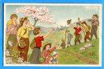 GG736, Illustrateur, Randonnée De Jeunes, Enfant, La Jeunesse Pour La Jeunesse, H. Ortat, Hortat, Non Circulée - Scouting