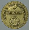 """Monaco Jeton Token 10 FRANCS Tir Aux Pigeons - ST DES BAINS DE MER - """""""" CERCLE Des ÉTRANGERS """""""" # 1 - Monaco"""