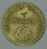 """Monaco Jeton Token 10 FRANCS Tir Aux Pigeons - ST DES BAINS DE MER - """""""" CERCLE Des ÉTRANGERS """""""" # 2 - Monaco"""