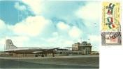 JERUSALEM AIRPORT  Kingdom Of Jordan Nice Stamps - Aerodromi