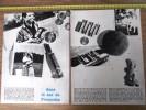 ARTICLE PRESSE 1950/1960 DANS LE SAC DE FRANÇOISE HARDY - Vieux Papiers