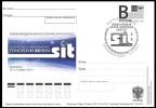 "2014-315 Canc Krasnoyarsk Russia Russland Russie Rusia Congress Space And Information Technologies-XXII Postal Card ""B"" - Storia Postale"